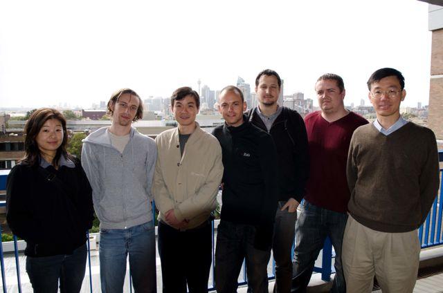 2011: Elaine Ou, Nick Fraser, Jason Ang, Daniel Shragl, Paul Subotic, Michael Frechtling, Philip Leong